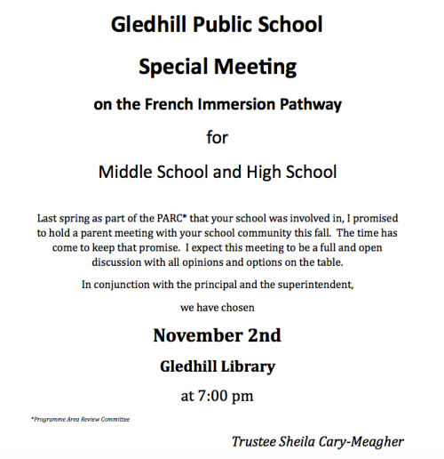 French Immersion Pathway