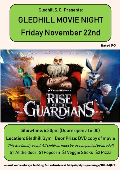 thumbnail_Gledhill Movie Night Poster online version November 2019